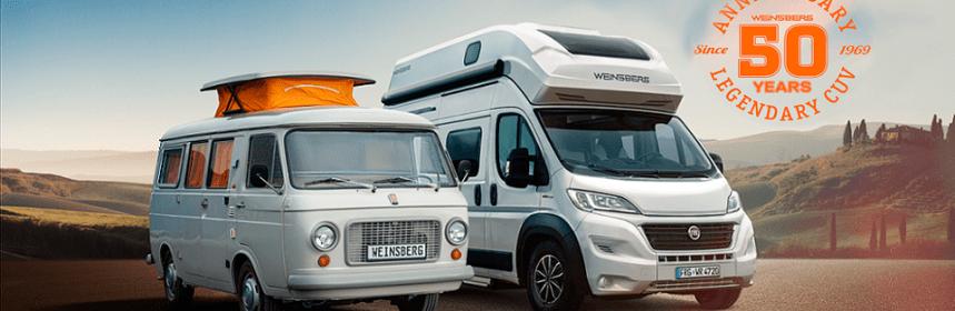 50 años de campers Weinsberg