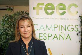 Ana Beriain, reelegida presidenta de la Federación Española de Campings