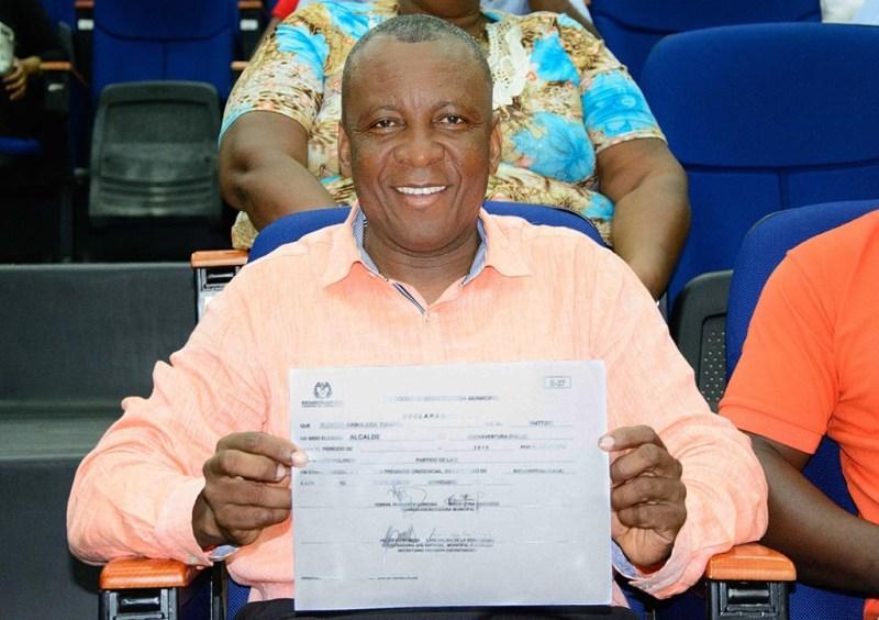 Registraduría entregó credencial  al alcalde electo, concejales y ediles