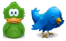 Probando Adium como cliente de Twitter