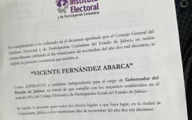 CONSTANCIA VICENTE FERNÁNDEZ JR