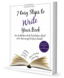 7 Easy Steps to Write Your Book Sideview
