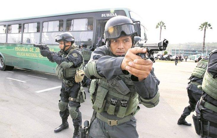 Policias en peligro