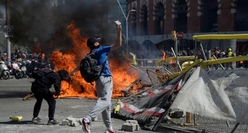 Incidentes Barcelona