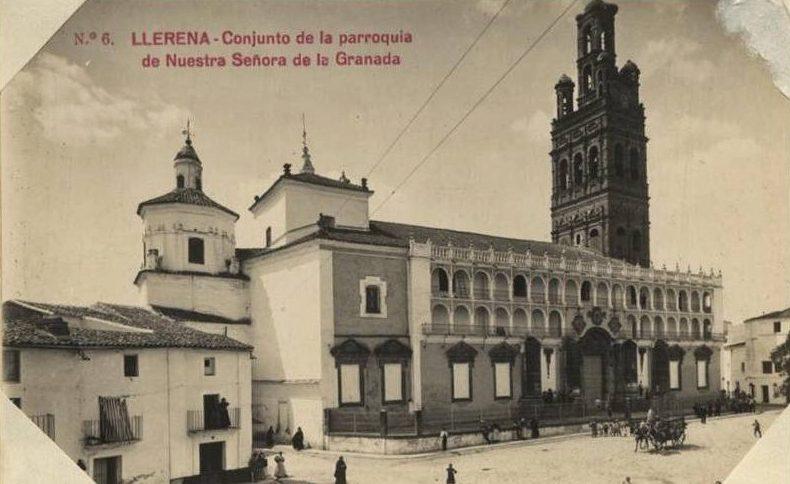 plaza de llerena antigua