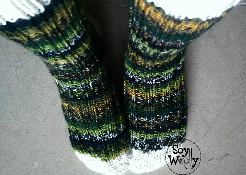 Como tejer calcetines o medias con dos agujas