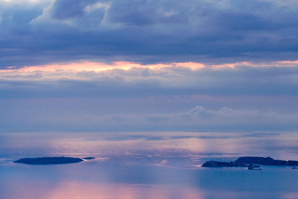 Островите край Созопол - Свети Кирик и Юлита, Свети Иван и Свети Петър