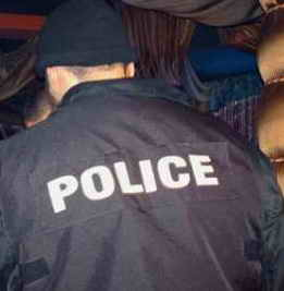 Пиян рита в корема полицай в Созопол 1