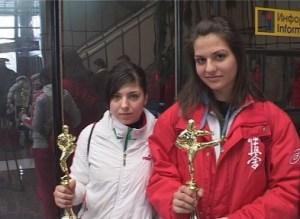 Александра Маринова от Черноморец взе злато на киокушин-кай в Москва 3