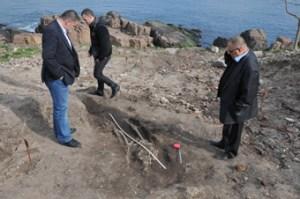 Нови археологически находки на нос Скамни 14