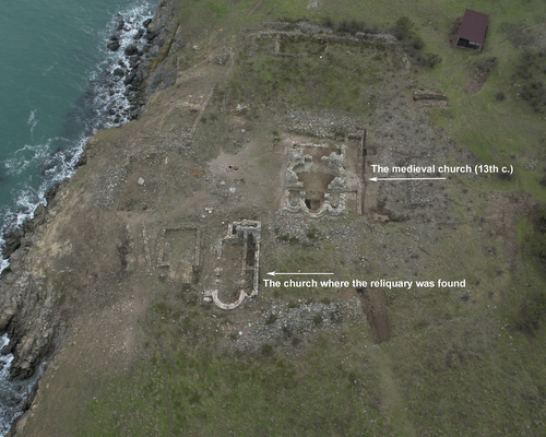 Разкопиките в Манастирският комплекс на остров Свети Иван