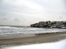 На плажа - Зимен Созопол 2012