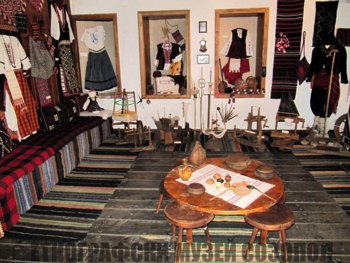 Бит и култура изложени в стария Созопол - Етнографски музей