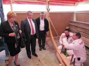 Строителството на старинната аламана в Созопол започна с водосвет 2