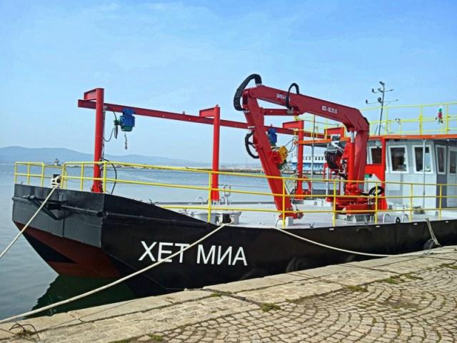 Катамаранът ХЕТ МИА; снимка www.sozopol.org