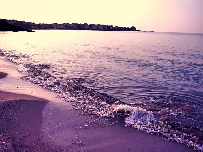 """Снимка от Созопол направена от плаж """"Буджака"""" в късния следобяд 02 Август 13г."""