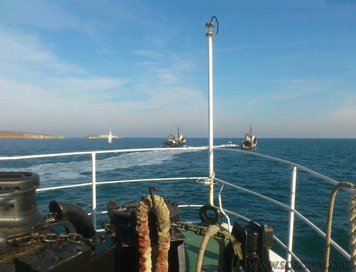 На борда на Риболовен кораб