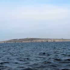 Поглед към остров Свети Иван от морето
