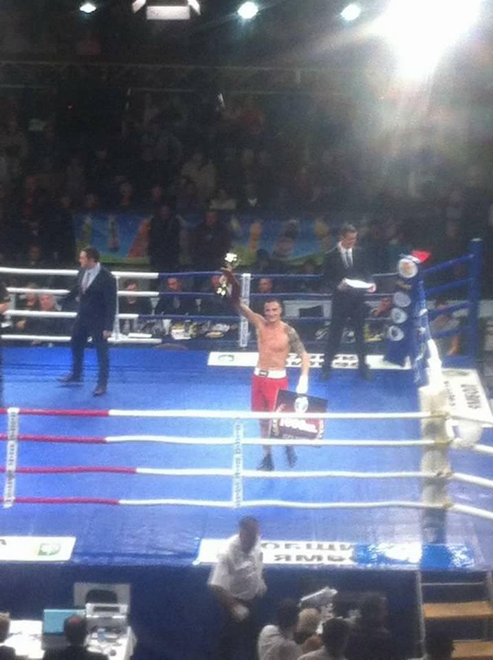 Петър Драганов - шампион на България по бокс
