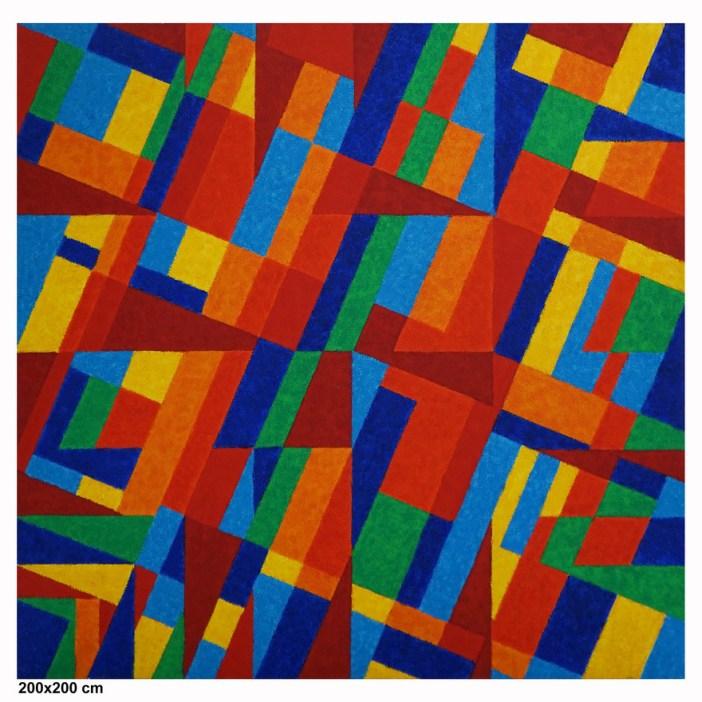 Sem título, 2014, de Claudio Tozzi. Obra da Referência Galeria de Arte (Foto: divulgação)