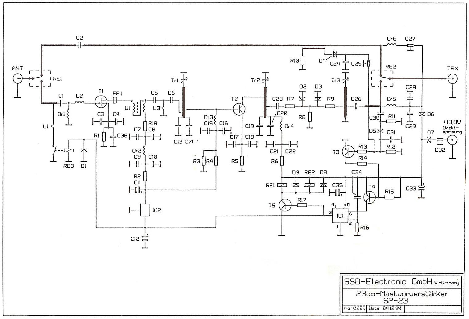 Mvv Amp Sp23 For Mhz 23cm Band By Sp5xmu