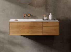 "Waschtischunterschrank ""INSA"" aus Massivholz inkl ..."
