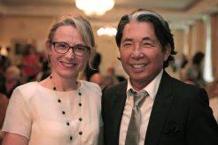 Aldina Duarte Ramos et Kenzo Takada