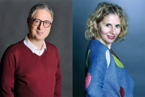 Jean-Louis Poiroux et Nathalie Bouchon-Poiroux
