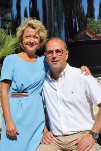 Le Spa du Clos - Emmanuel Lortholary et son épouse
