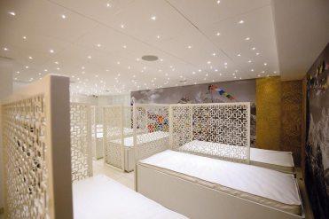 Salle de relaxation - matelas à eau