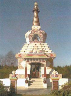Méditation tibétaine à l'Île de Ré