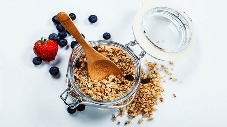 Homemade granola SHA Wellness Clinic