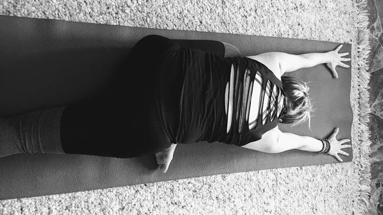 Asanas, Yoga postures, sleeping pigeon pose
