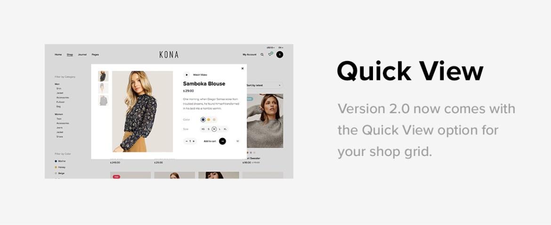 Kona - Modern & Clean eCommerce WordPress Theme - 6