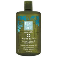 Cold and Flu Remedies: Kiss My Face Shower Gel