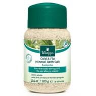Cold and Flu Remedies: Kneipp Eucalyptus Cold & Flu Mineral Bath Salts