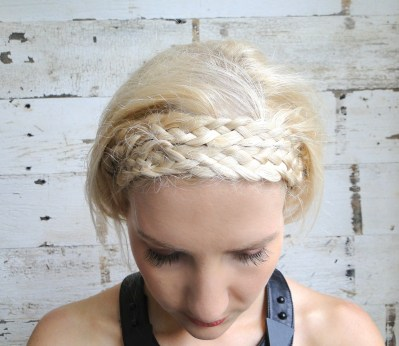Katniss Nine Strand Crown Braid