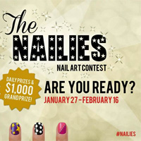 Hot Designs #Nailies Nail Art Contest!