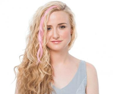 ouidad pink hair extension
