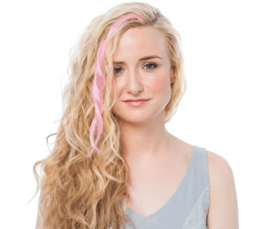 ouidad pink hair extension