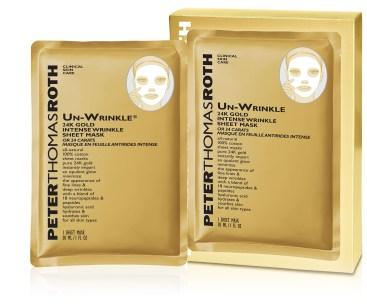Peter Thomas Roth Un-Wrinkle 24k Gold Intense Wrinkle Sheet Mask