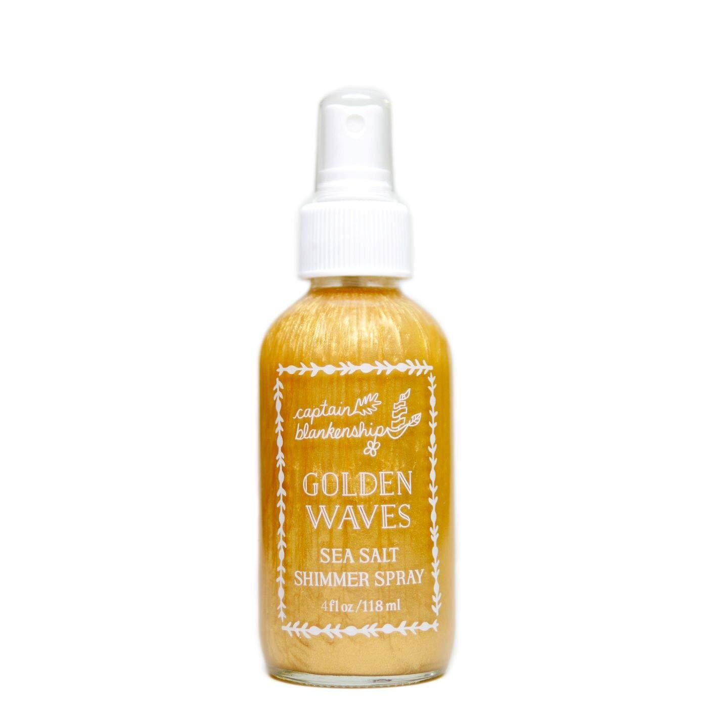 sea salt hair spray with gold