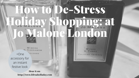 How to Relax while you Holiday Shop & Ornaments for Festive Outfits in a Snap
