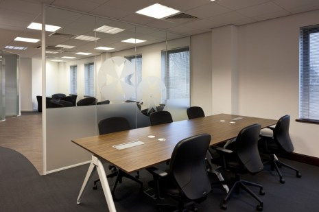 Image of The Order of St Johns Trust open-plan office refurbishment