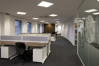 Image of The Order of St Johns Trust open-plan office