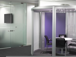 Image of Thomas Cook HQ office pod detail