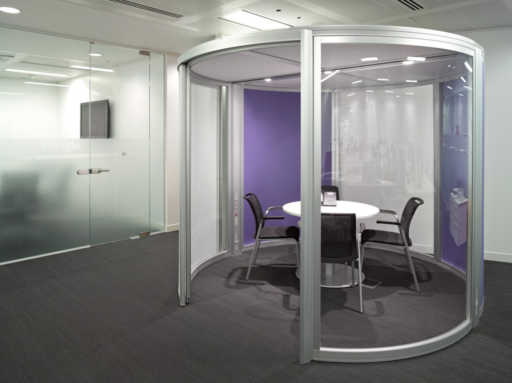 Thomas Cook Hq Relocation And Refurbishment Space Pod
