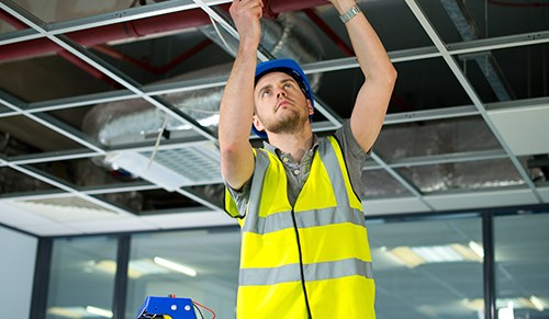 Image of a Commercial Suspended Ceilings installation
