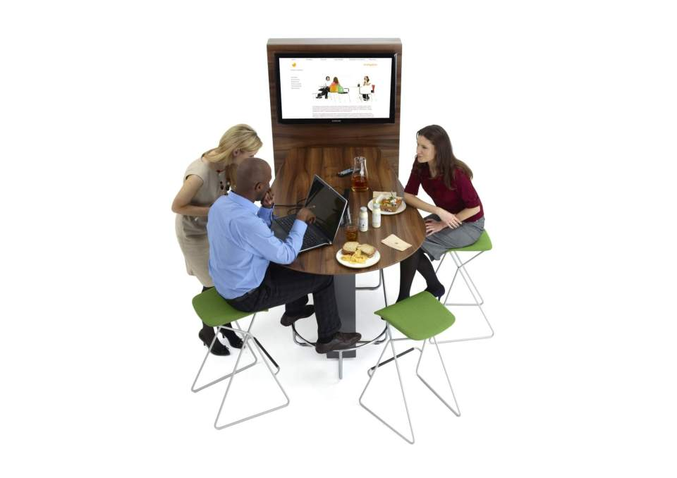 Picture of Orangebox Media Meeting Tables