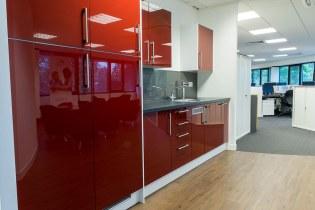 Image of Orders of St John Care Trust kitchen refurbishment